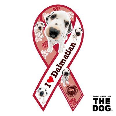 リボンマグネット THE DOG(ザ・ドッグ)ダルメシアン