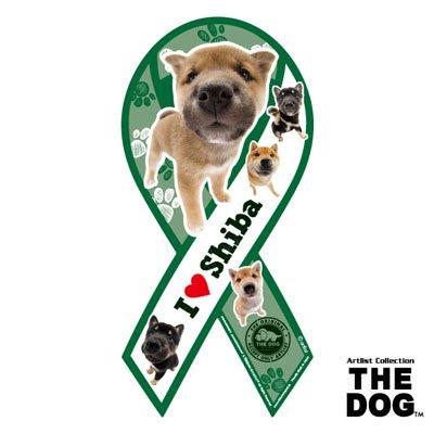 リボンマグネット THE DOG(ザ・ドッグ)柴犬