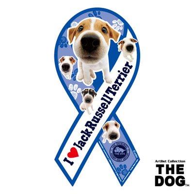 リボンマグネット THE DOG(ザ・ドッグ)ジャック・ラッセル・テリア