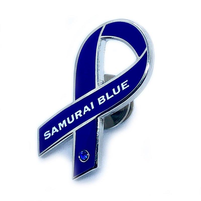 サッカー日本代表「SAMURAI BLUE」ピンバッジ
