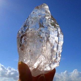 ヒマラヤ水晶、裏後光