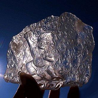 ヒマラヤ水晶彫刻<br>〜バジュラパーニ〜