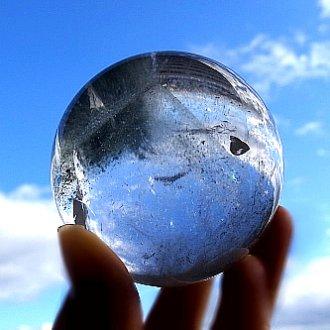 ファントム水晶丸玉<br>グリーンゲート