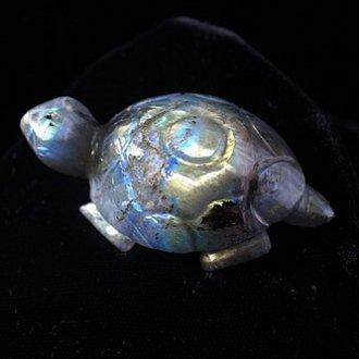 ラブラドライト亀