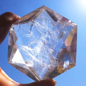 水晶六芒星(特大)
