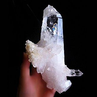 虹観音<br>コロンビア水晶