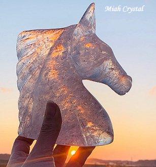 レインボー水晶ホース