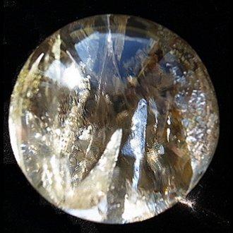ヒマラヤ水晶インクルージョン玉