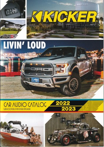 <img class='new_mark_img1' src='https://img.shop-pro.jp/img/new/icons61.gif' style='border:none;display:inline;margin:0px;padding:0px;width:auto;' />KICKER CAR AUDIO CATALOG 19-20 【送料無料】