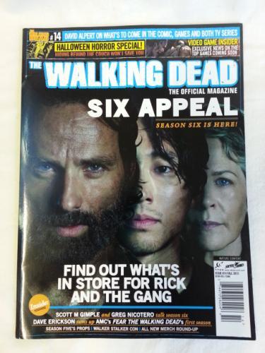 【海外ドラマ】 ウォーキング・デッド WALKING DEAD 海外公式雑誌 Official Magazine #14