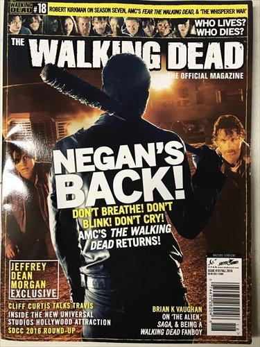【海外ドラマ】 ウォーキング・デッド WALKING DEAD 海外公式雑誌 Official Magazine #18