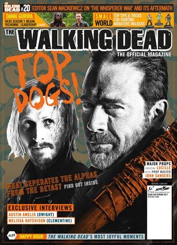 【海外ドラマ】 ウォーキング・デッド WALKING DEAD 海外公式雑誌 Official Magazine #20