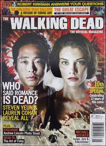 【海外ドラマ】 ウォーキング・デッド WALKING DEAD 海外公式雑誌 Official Magazine #5