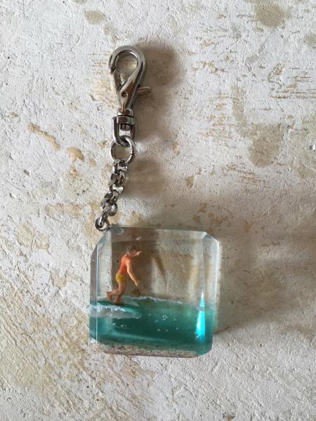 CRYSTALCUBE  key ring