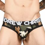 ANDREW CHRISTIAN Camouflage Brief w/ Almost Naked XS,S,M,L,XL