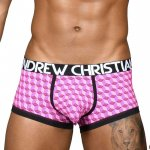 ANDREW CHRISTIAN Ace Boxer w/ Almost Naked XS,S,M,L,XL