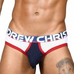 ANDREW CHRISTIAN Almost Naked Brief Retro Mesh Brief XS,S,M,L,XL