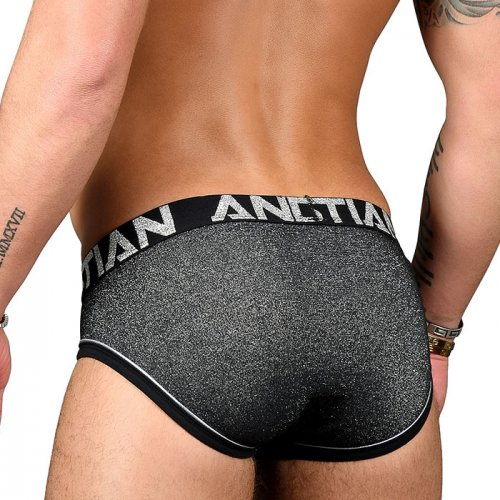 ANDREW CHRISTIAN Sparkle Denim Brief w/Almost Naked XS,S,M,L,XL_商品説明1