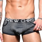 ANDREW CHRISTIAN Sparkle Denim Pocket Boxer w/Almost Naked XS,S,M,L,XL