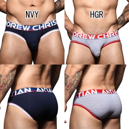 ANDREW CHRISTIAN Almost Naked Cotton Brief XS,S,M,L,XL _商品説明3