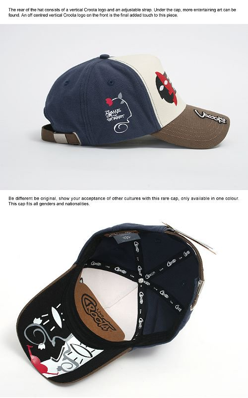 CROOTA CAP 【C. The United States of Australia】_商品説明2
