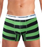 MOSMANN ECO STRIPE GREEN BOXER BRIEF S/XL