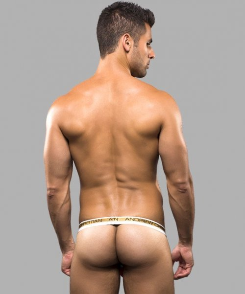 ANDREW CHRISTIAN Almost Peek-a-boo Strapless Jock XS/XL_商品説明1