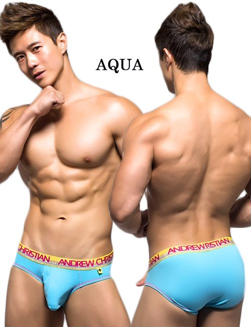 ANDREW CHRISTIAN Glow Pop Brief XS/XL_商品説明1