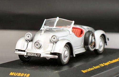 メルセデス 150 スポーツ ロードスター 1935 シルバー 1/43スケール