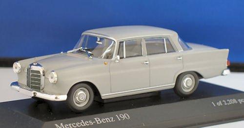 メルセデスベンツ 190 1961 グレー