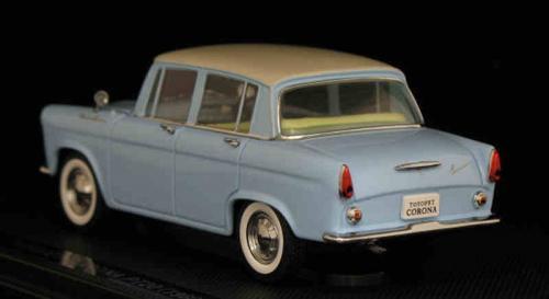 トヨペット コロナ PT20 1960 ライトブルー 1/43
