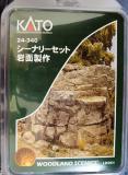 シーナリーセット岩面製作