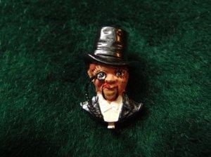 CORO 腹話術人形チャーリー・マッカーシーのブローチ(S7163)