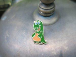 ソビエト緑の恐竜のブローチ(S8480-11)