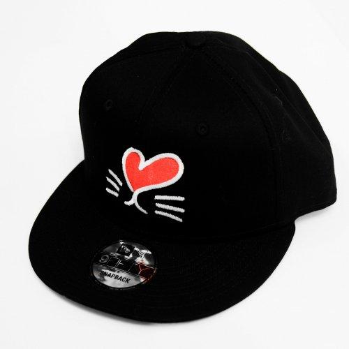 LoveRabbit オリジナルキャップ [ニューエラ] 9FIFTY  Black (サイズ調整)