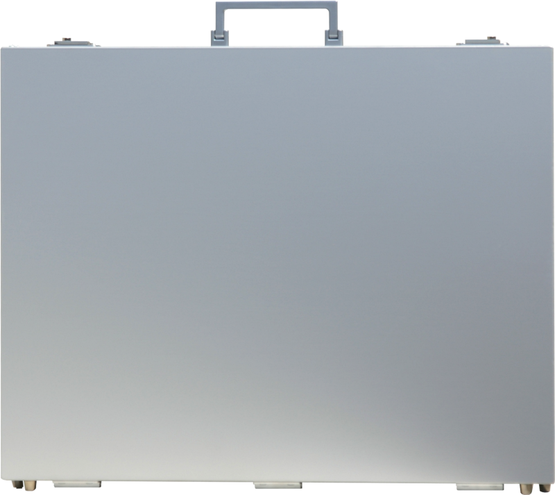 A3 アルミニウム・プレゼンテーション 薄型トランクケース