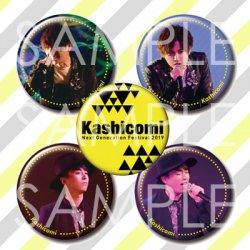 【ジェネフェス】Kashicomi 缶バッジ セット