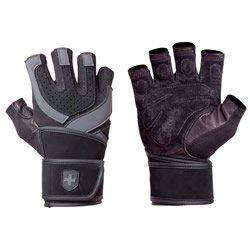 <輸入代行> Harbinger Training Grip WristWrap(ハービンジャー・トレーニング・グリップ・リストラッ…
