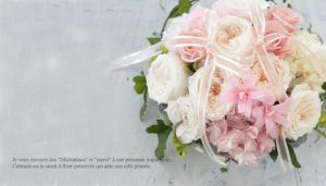 お花のリングピロー プーレ