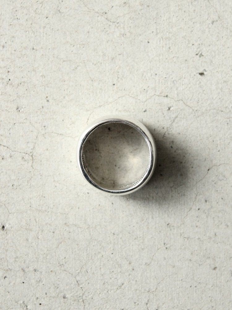 LEATHER&SILVER MOTO | モトレザー Stamp Ring