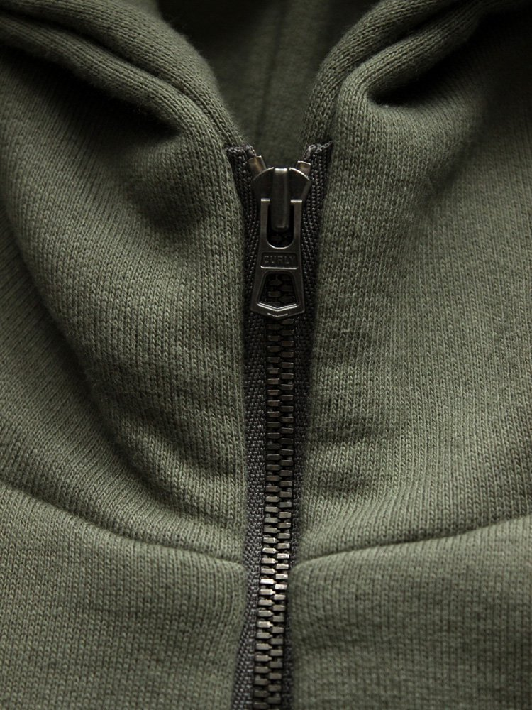 CURLY | カーリー BRIGHT ZIP PARKA #OLIVE