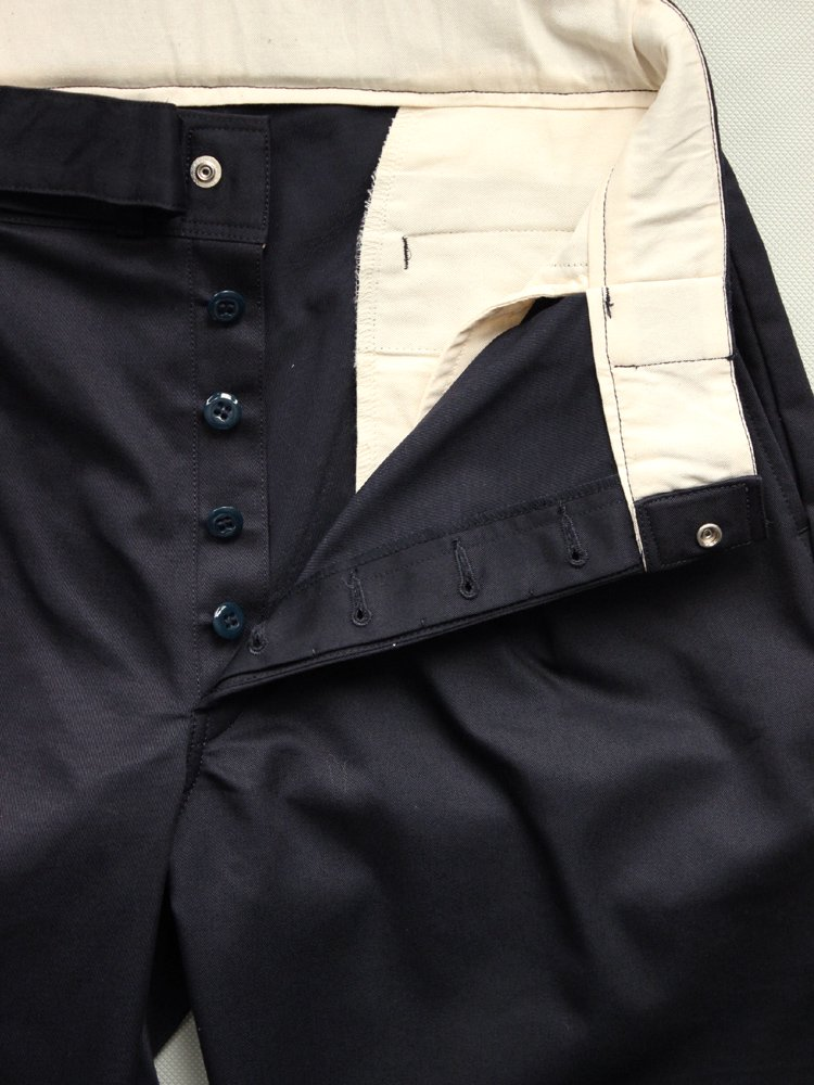アウトレット WIDE WORK PANTS #NAVY