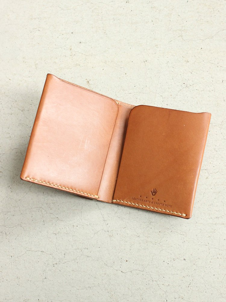 Mini Wallet(Cow Leather) #BROWN