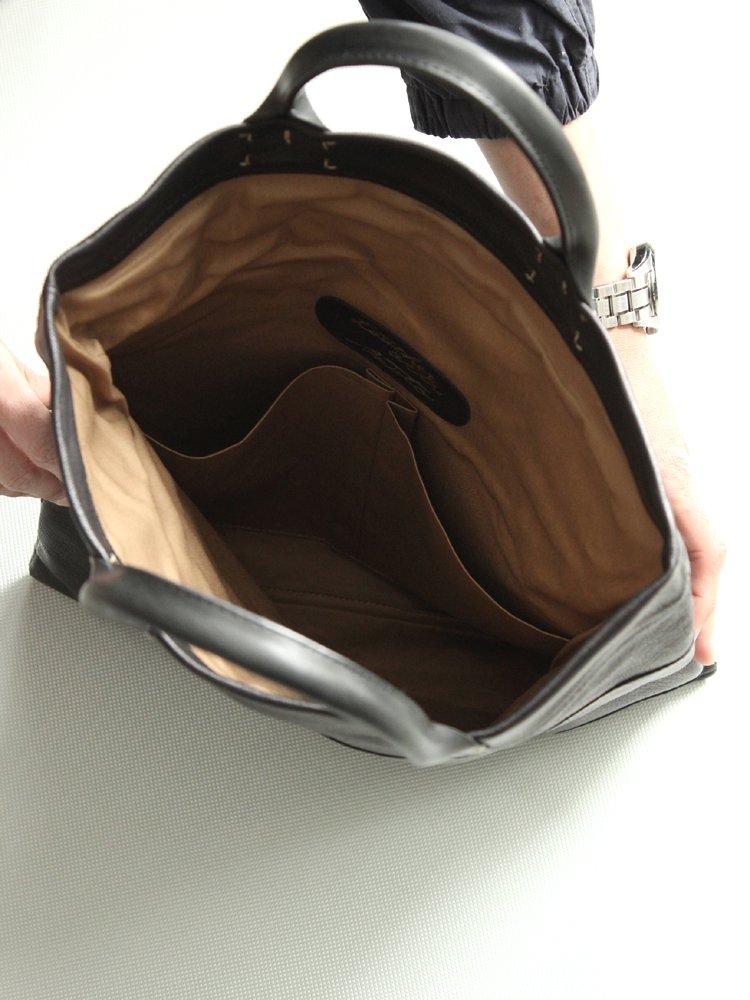 LEATHER&SILVER MOTO | モトレザー Tote Bag #BLACK