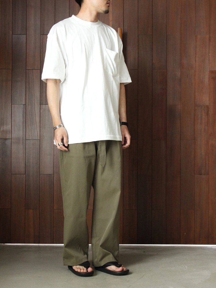 Select Items | セレクトアイテム FINEST POCKET T-SHIRT #WHITE