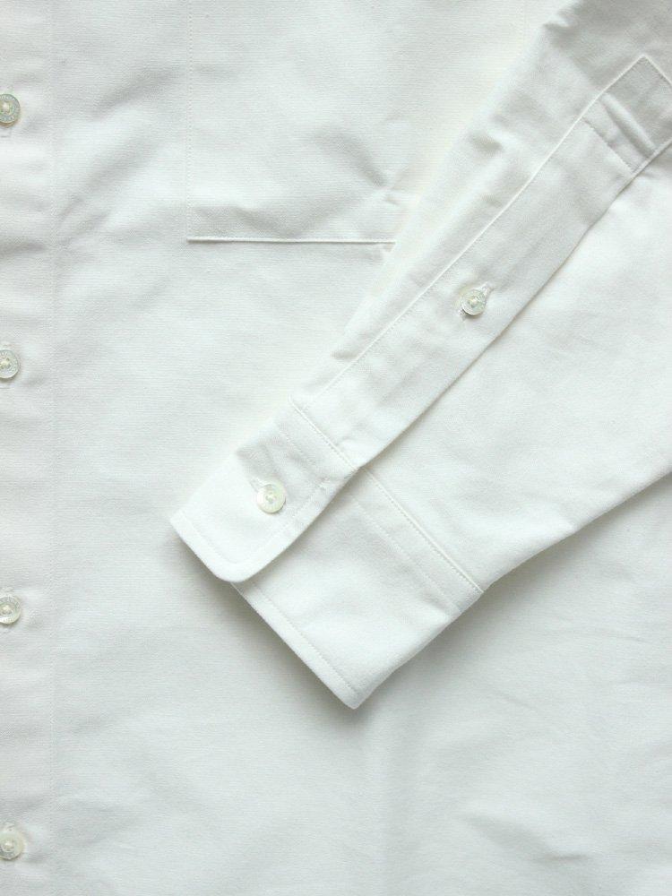 MARKAWARE | マーカウェア POLO COLLAR SHIRTS REGULAR-FIT #WHITE