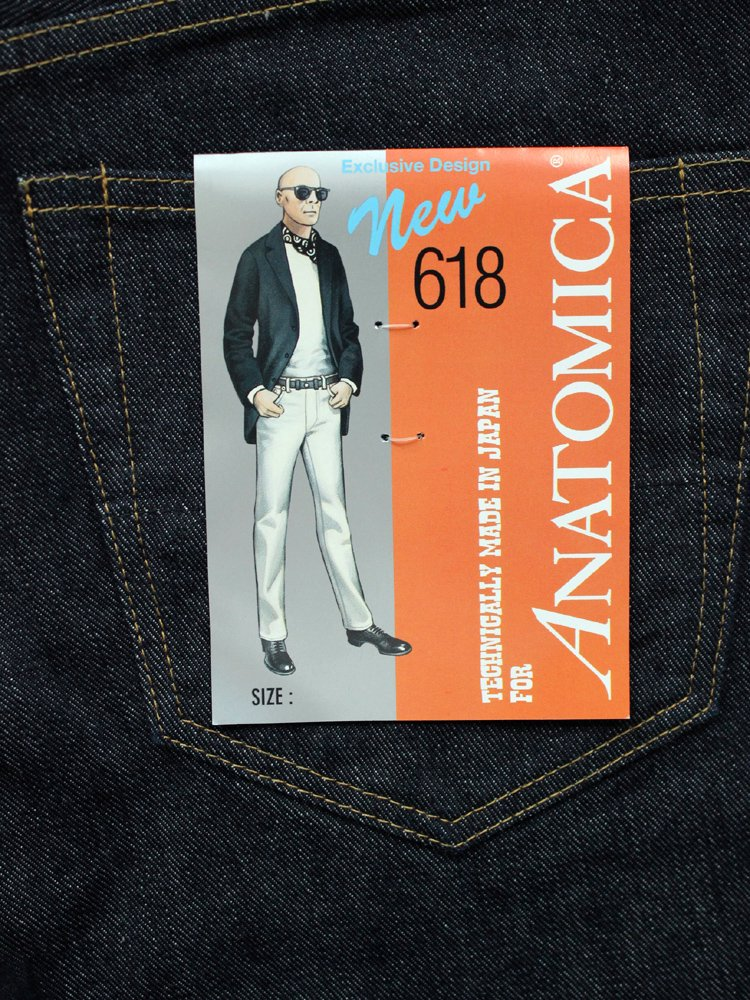 ANATOMICA | アナトミカ 618 ORIGINAL #INDIGO ONE WASH