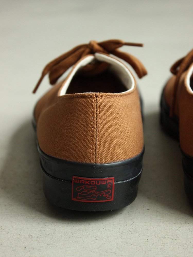 ANATOMICA | アナトミカ WAK DECK SHOES LOW BLACK SOLE #BROWN