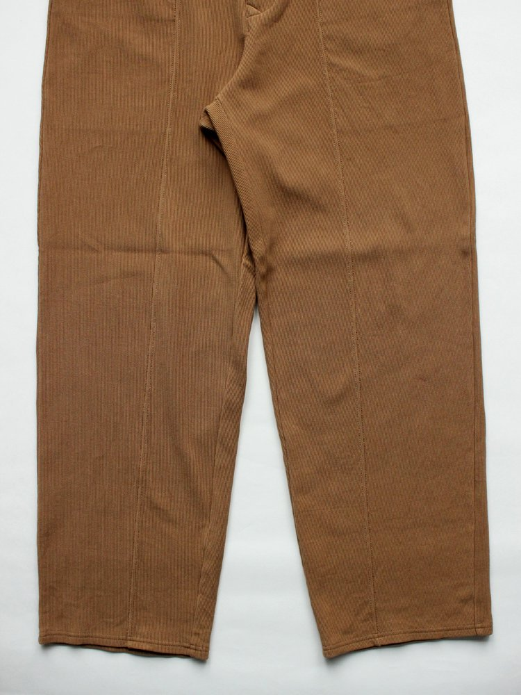 CURLY   カーリー RIPPLE SNAP TROUSERS #BEIGE