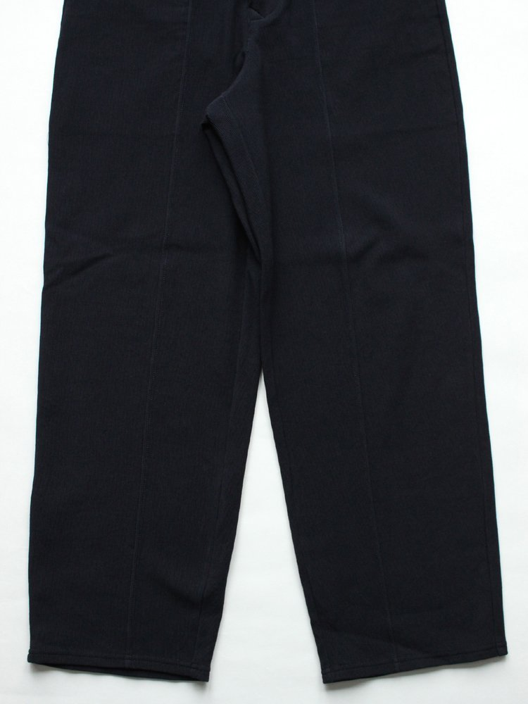 RIPPLE SNAP TROUSERS #NAVY